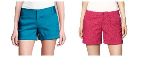 MOm shorts- Alice+Olivia and Target
