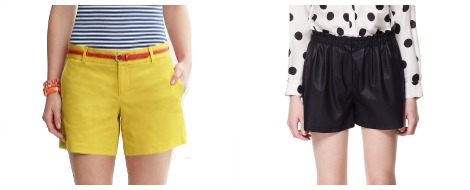 Mom shorts- Banana Republic and Zara