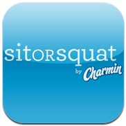 SitorSquat: Restroom Finder app