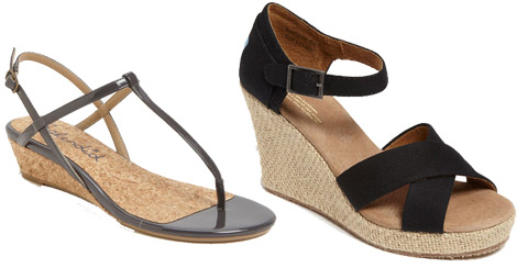 petites fashion wedges