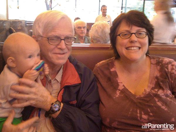 Dr. Bob Zaslavsky and his daughter Cordelia