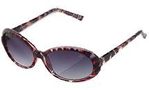 Simply Vera Wang Tortoise Oval Sunglasses