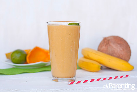 allParenting The Creamy Papaya smoothie
