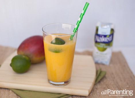 allParenting Mango smoothie