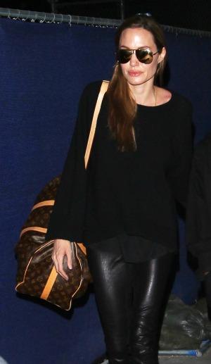 Sad day for Jolie's family