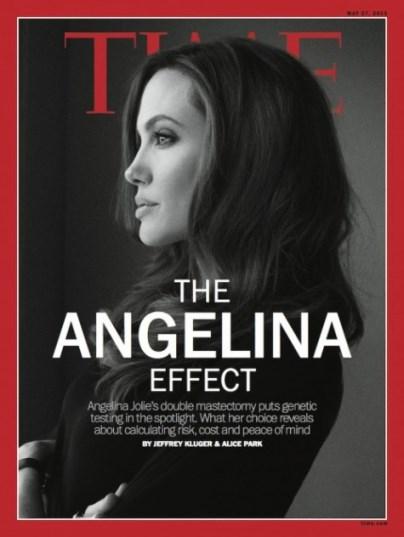 Angelina Jolie on Time Magazine