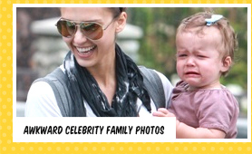 Celebrity family photos