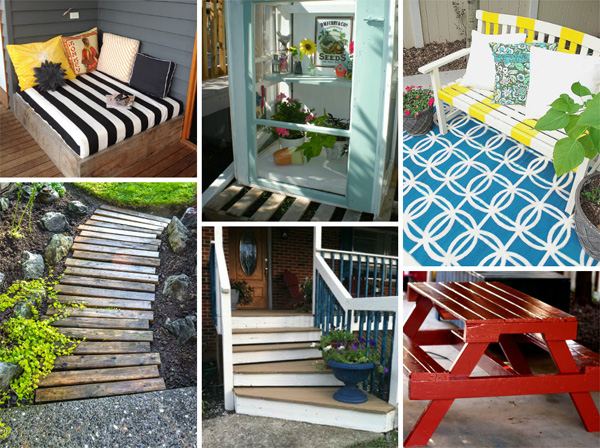 Cool backyard DIY projects from around the web