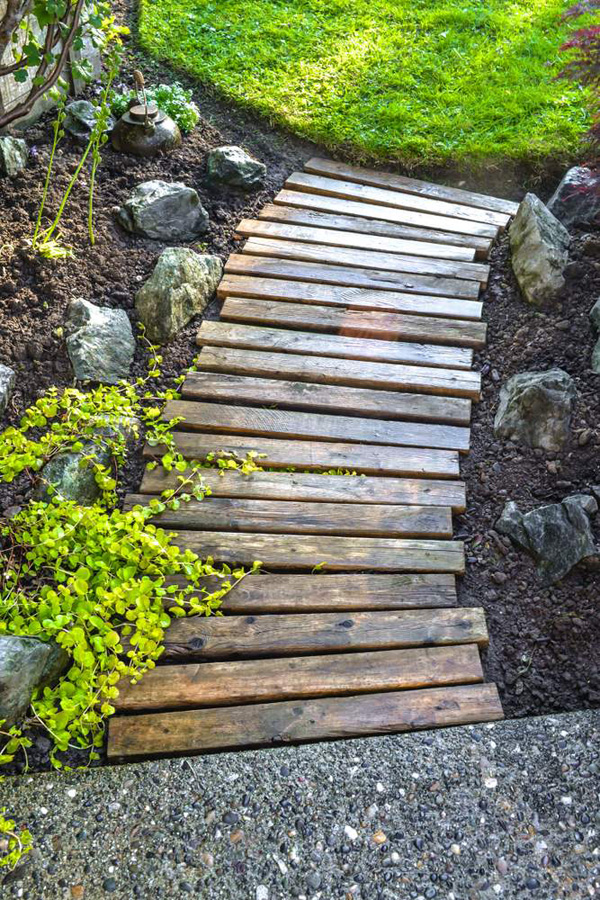 bl diy landscape timber projects