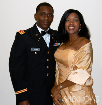 Crystal and her husband