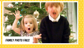 Family photo fails
