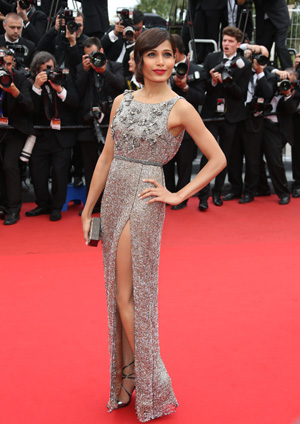 Freida Pinto at Cannes