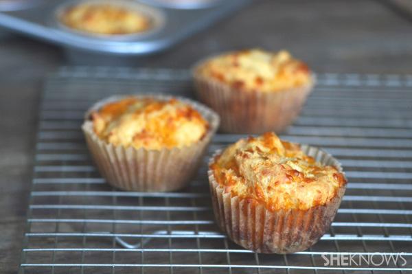 Gluten-free muffins say cheese