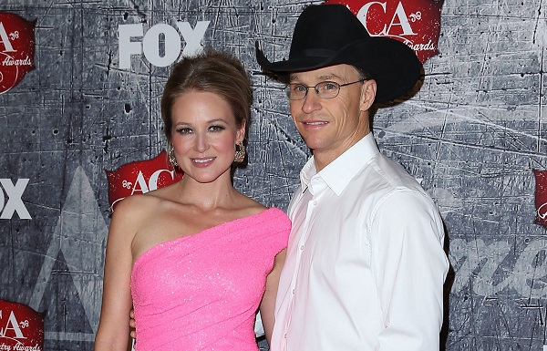 Jewel and her husband Ty Murray