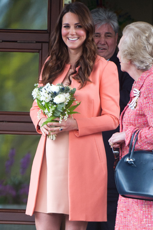 The Duchess is  due on July...