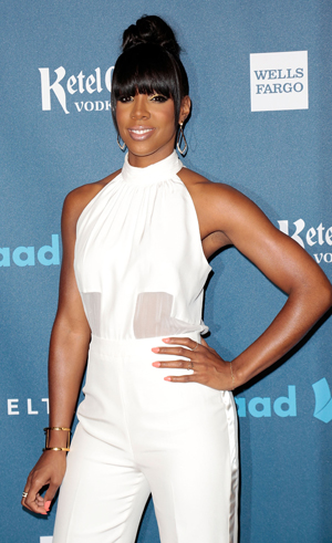 Kelly Rowland at Glaad Awards