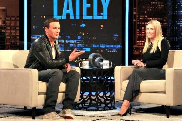 Ryan Lochte talks love on Chelsea Lately