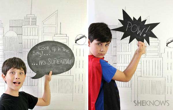 superman party scene