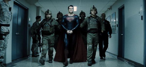 Superman comes home