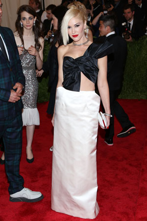 Gwen Stefani at the Met Gala