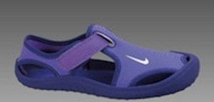 Nike sunray for baby's feet