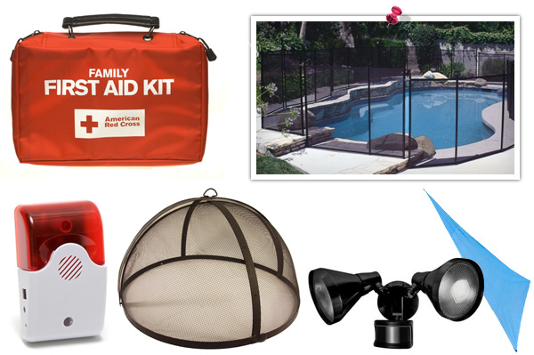 Summer home safety products