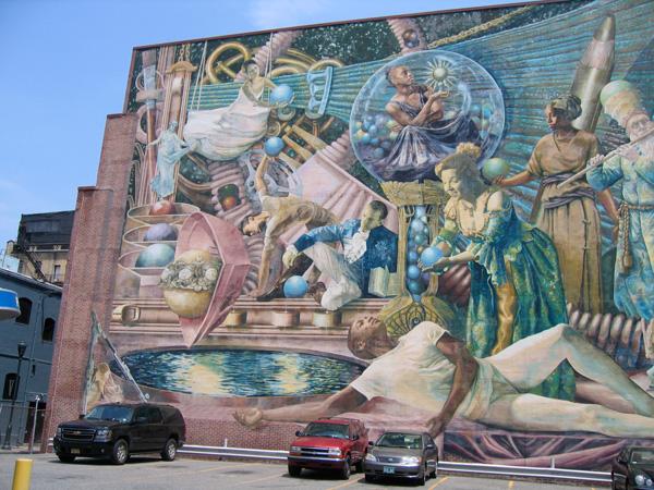 Mural Arts Program tour