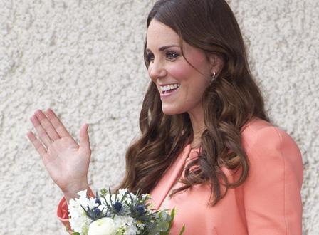 Pregnant Kate Middleton
