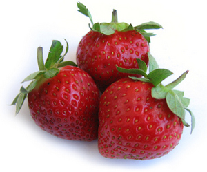 Strawberries have iodine