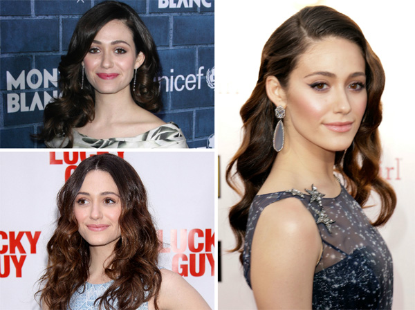 Emmy Rossum's hair