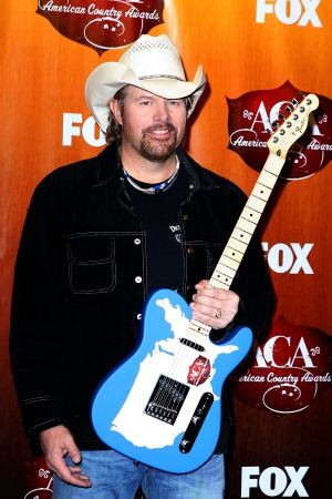 Toby Keith's hope  for hometown