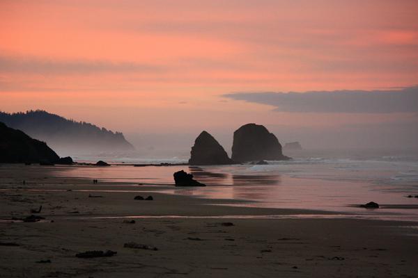 Haystack Rock: Cannon Beach, Oregon