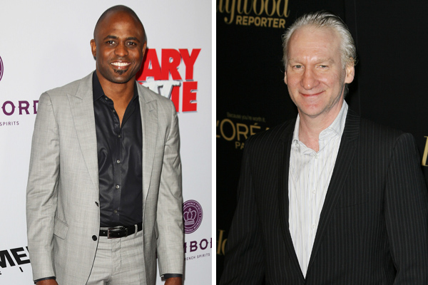 Actor against Maher's black stereotypes