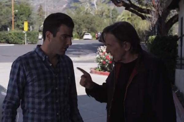 Leonard Nimoy Races Zachary Quinto In New Car Ad