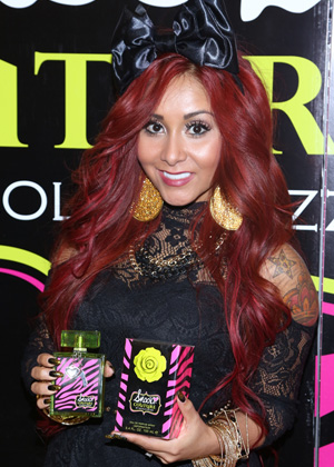 Perfume that's too heavy -- Snooki