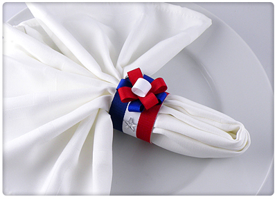 Patriotic Napkin Ring