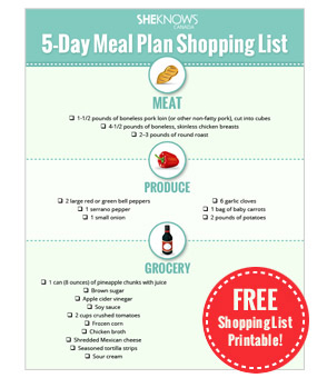 Meal-planning made easy