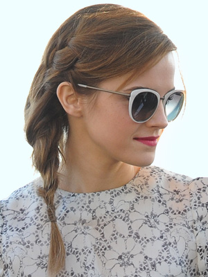 Emma Watson's plait