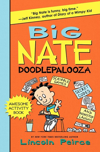 Big Nate Doodlepalooza by Lincoln Pierce