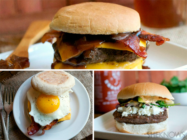 3 Pub inspired burgers for Dad