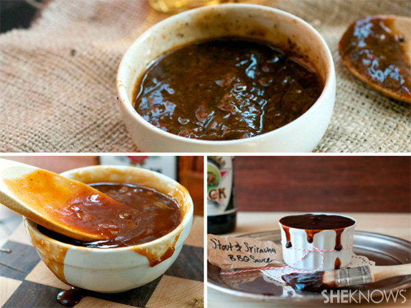 Homemade sauces with booze