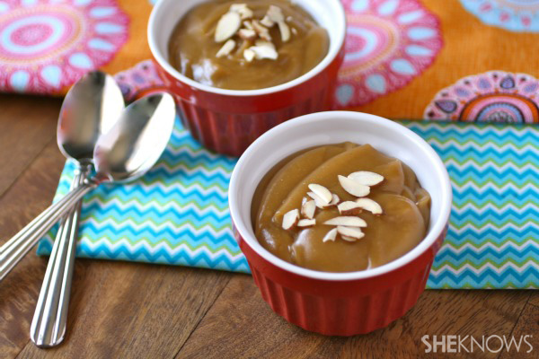 Creamy peanut butter pudding