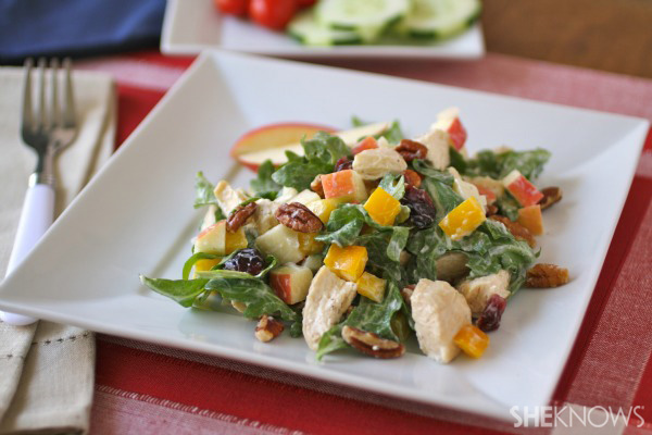 Easy chicken Waldorf salad |SheKnows.com