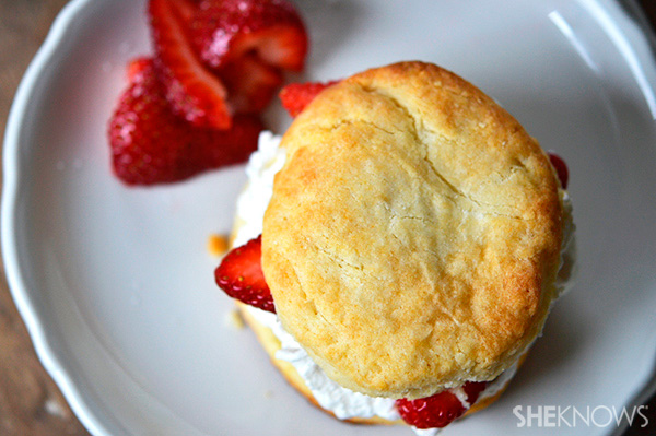 Gluten free strawberry shortcakes