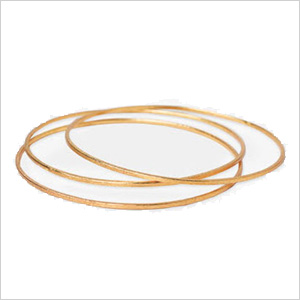Nordstrom 'Bauble Bar' Brushed Bangles
