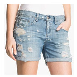 Rejuvenate your boring jean shorts