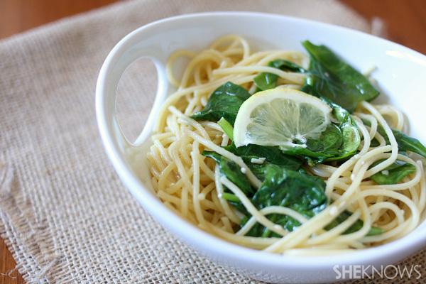 Summertime pasta recipe