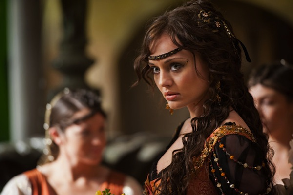 Laura Haddock as Lucrezia in Da Vinci's Demons