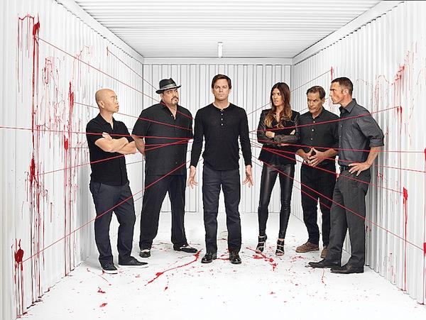 The cast of Dexter Season 8