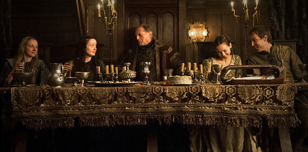 It's a red wedding for the Starks